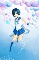 Sailor Mercury by lychee-tea