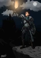 Dark Souls 2 Self Portrait by ForrestAnthony