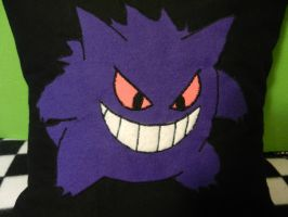 Gengar pillowcase by Tamtea