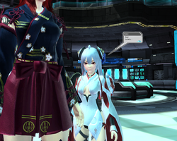 Mini Giantess in PSO2 by ThatGUYGTS