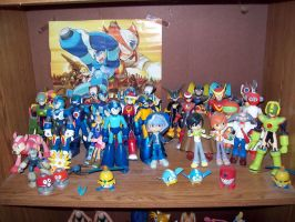 Megaman Figure Collection 2 by JigglyPuffGirl