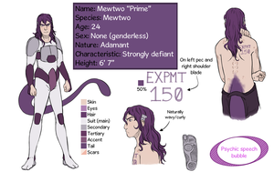 Mewtwo Prime Reference by DasUnicorm