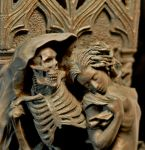 Death and the Maiden, detail by DellamorteCo