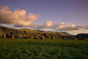 Castlerigg stone circle stock by A68Stock