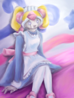 Little Miss Marshmallow by avroillusion