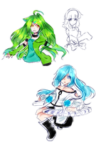 Oc Sketches by Aoi-chan01