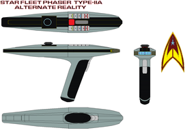 Star fleet Phaser  Type-IIa Alternate reality by bagera3005