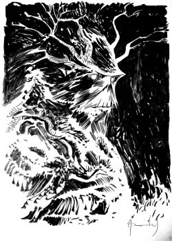 SWAMP THING COMMISSION by UltimateRubberFool