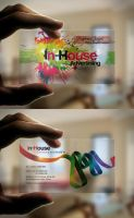 Inhouse ADV Business Card by HaythamFayed