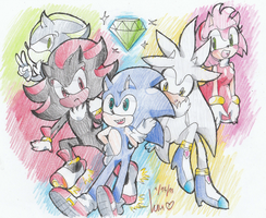 the hedgies of sanic by lucas420