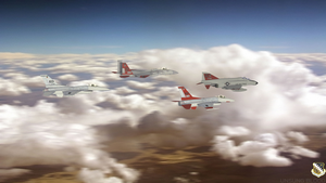 Edwards AFB Chase Planes by UnsungBlood