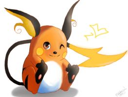 Pokemon: Raichu by chocolatecherry