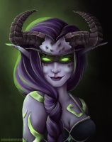 Demon Hunter by RedDragonAmy