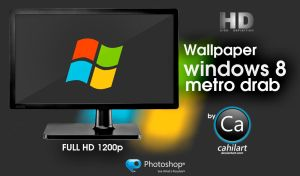 Windows 8 Metro Drab by CaHilART