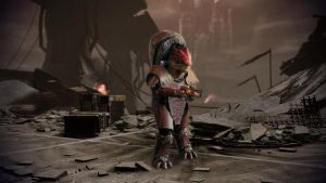 Urdnot Wrex by proppedupcreations