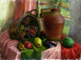 Still Life Drawing5 by creaturedesign