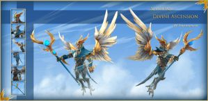 Divine Ascension - Skywrath Mage set by Anuxinamoon