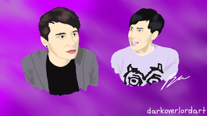 Dan and Phil by Koragg1