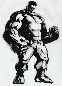 The hulk by steffburney