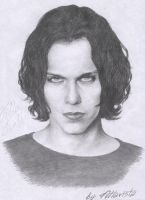 Ville Valo singer HIM by Beautiful-lie78