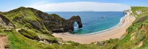 Durdle Cove and Durdle Door by Astroandre