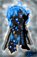 Dark Phoenix Armor w/ Cape by Xzeromus
