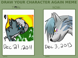 Draw Your Character Again Meme By Cialli-d56df by XTwilight-SerenityX