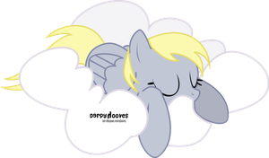 Sweet Dreams Derpy by oOBrushstrokeOo