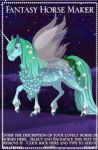 Fantasy Horse Maker 1 by ponygirl