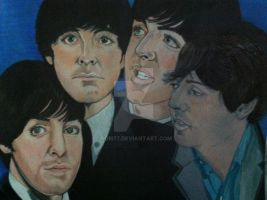 Four Faces of McCartney by rori77