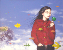 The Cloud Messenger by kolaboy