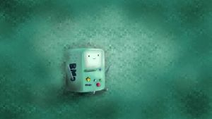 BMO Adventure Time Wallpaper by iKarwowski