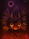 DAY 29. Skull Kid (35 Minutes) by Cryptid-Creations