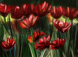Practice - Flowers by alicegallery