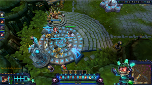 Mad Scientist Ziggs League of Legends Overlay by Melificence