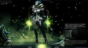 Saryn (codex screenshot) by Ask-Fangthevampire