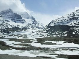Canada Scenery - Mountains 1 by Lonewolf-Eyes