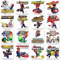 Mario Emulator Icons by Pooterman by POOTERMAN