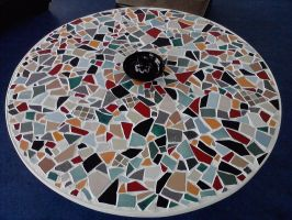 Mosaic table top by bloodypinata