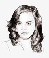 emma watson by harrynotlarry