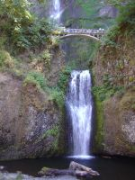 Waterfall Columbia river gorge by bkoolboy