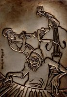 Jazz Trio by UmeshPrasad