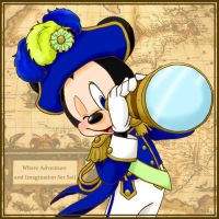 Admiral Mickey by hat-M84