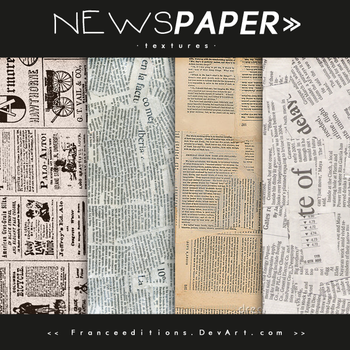 Newspaper // TEXTURES by FranceEditions