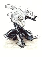 Black Cat by manulupac