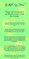 My Weight Loss Tutorial by Coco-Igi