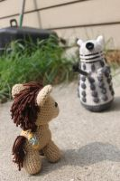 EXTERMINATE THE DOC-TOOOR! by MilesofCrochet