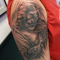 Grim Reaper Tattoo by joshing88
