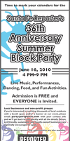 36th Summer Block Party by talayawhite