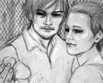 cherokee rose in the prison by alealgethi